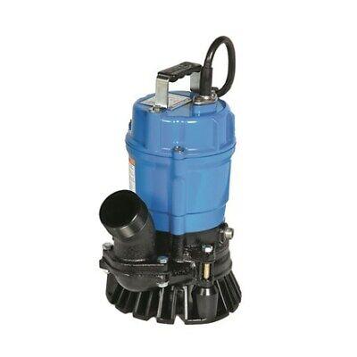 Tsurumi Hs2.4s-62 2 Submersible Trash Pump 53gpm 115v 39 Head Electric Hs2.4s