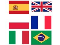 Translators -English-Spanish-Polish-French-Italian-Portuguese (Brazil)