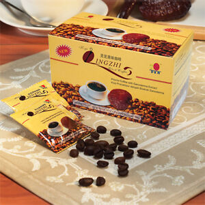 Healthy Black Coffee with Ganoderma extract (20 sachets x 4,5g)