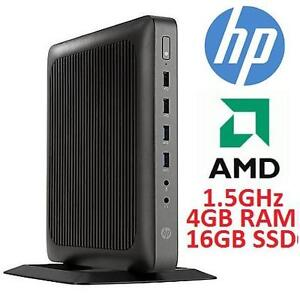 NEW HP THIN CLIENT SFF DESKTOP PC - 116875350 - COMPUTER PC AMD SMALL FORM FACTOR