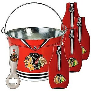 Chicago Blackhawks Ice Bucket Kit (New)