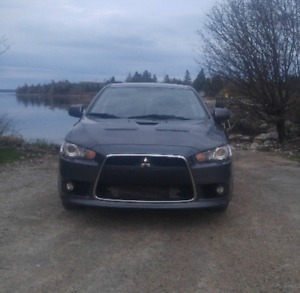 2009 AWD Mitsubishi Lancer Ralliart Sedan 237-hp turbo