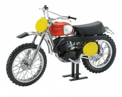 Toy Dirt Bike- New Husqvarna Model Bike-1970 B.Aberg Replica Cross 400 Husqvarna Dirt Bike