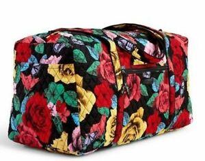 5c344e963 Vera Bradley Large Duffel Travel Bag - Havana Rose for sale online ...