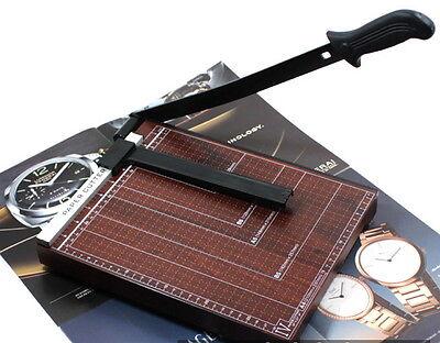 Wooden A4 Paper Document Cutting Machine Cutter Chopper Board Office New