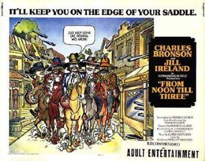 From Noon Till Three Starring Charles Bronson