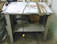 Two large light tables for photography, negatives, crafts, etc