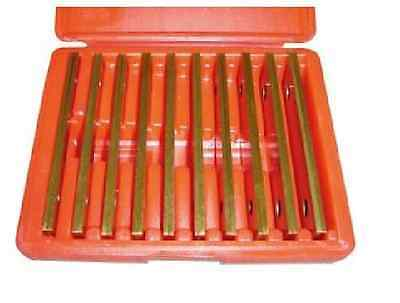 Tin Coated New Precision 10 Pair 18 Parallel Set