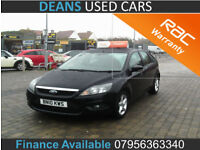 2010 Ford Focus 1.6TDCi 110 ( DPF ) Zetec FINANCE AVAILABLE
