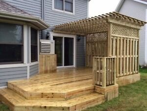 Decks and fences Built to code built to last