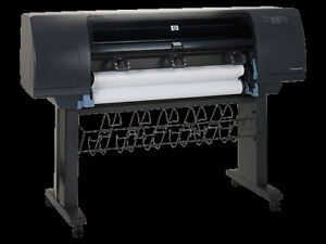 "Hp DesignJet 4000ps 42"" wide format plotter\printer"