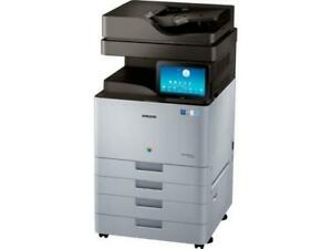 ONLY 6K PAGES PRINTED- Repossessed Samsung  MultiXpress SL-X7400LX Color Laser Multifunction Printer Copier Scanner