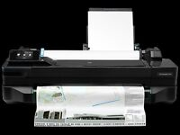 A1 Colour Printer Designjet T120 *NEW* - free installation & paper*