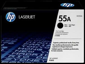 Brand new HP 55A Black Original LaserJet Toner Cartridge (CE255A)