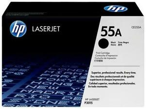 Lot of 2 HP Original LaserJet Toner Cartridges - HP 55A Black (CE255A) & HP 121A Magenta (C9703A)