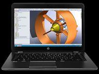 HP ZBook 14 Intel i7-4600U 750GB HDD 8GB RAM Touch Screen
