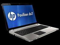 HP Pavilion dv7-6c52ea Entertainment Notebook PC 500GB 4GB RAM CORE i5 WIN 10 64BIT