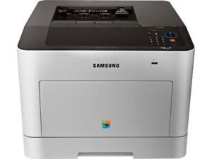 BRAND NEW COLOR SAMSUNG CLP-680ND PRINTER WITH A GREAT PRINTING SPEED UP TO 25PPM WITH AUTOMATIC DUPLEX FOR JUST $395.