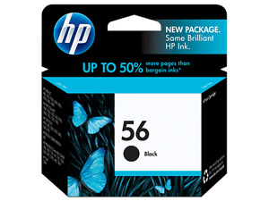 •	Genuine HP Toner Cartridges 56 Black & 57 Tri-color