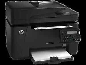 HP  Laserjet  Printer  M127fn  (basically  brand new)  **SOLD