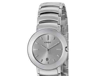 NWOT Ladies Rado Coupole R22531113 Silver Dial St Steel Swiss Quartz Watch
