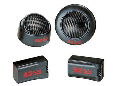 "Boss TW15 1"" 200 Watt Super Polymer Micro-Dome Car Audio Tweeters (Pair)"