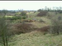 **WANTED** WASTEGROUND / SMALL PLOT OF LAND