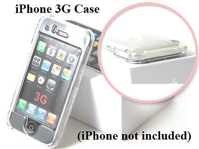 3g Clear Hard Case (IPC Clear Apple iPhone 3G Premium Case Cover Smooth Plastic Hard)