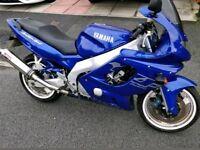 2002 Yamaha Thundercat not r6 zx6r honda