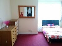 Huge double room in S/sea house, clean, bright, recently decorated no fees or council tax, avail now