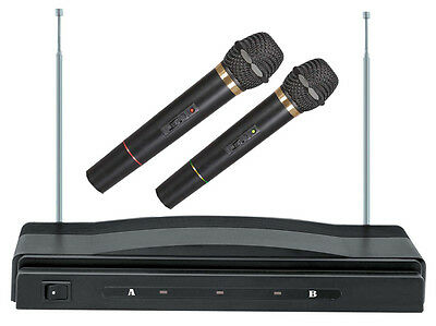 New Supersonic SC-900 Professional Handheld Wireless Dual Microphones Karaoke