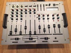 DJ Mixer_ PSM8080_ 9 Channel _ Vintage