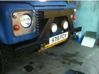 Land Rover 90/110 bumper/nudge bar