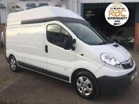 2012 12 VAUXHALL VIVARO LWB HIGH ROOF IDEAL CAMPER VAN WITH AIR CON FULL HISTORY