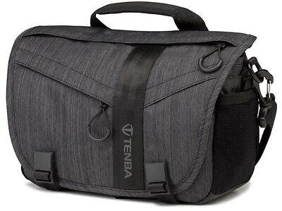 Tenba Messenger DNA 8 Digital Camera Bag Graphite Inc Rain Cover NEW FREE P&P
