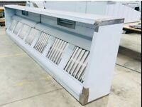 Commercial kitchen canopy fittings