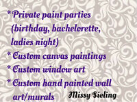 Paint party instructor/artist