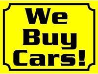 We buy any cars scrap cars mot failiure non runners