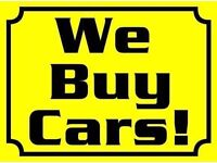 CARS WANTED NON RUNNERS SCRAP ANY CONDITION