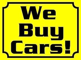We buy cars- even if they are not up to scratch!