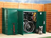 Asgard Metal Bike Shed / Storage Unit