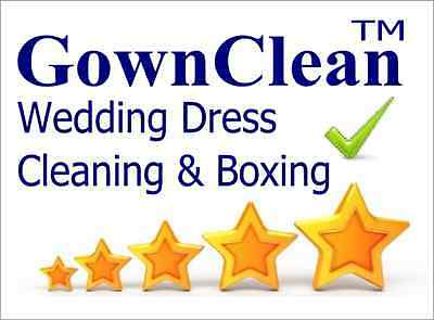 grecian wedding dresses can be cleaned by Gownclean