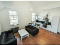 Stunning brand new split level 2 bed with roof terrace - Clapham