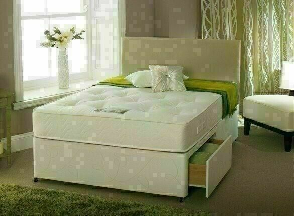 Many Mattresses Range New Divan Single Double Small Double King Size Bed Base W Drawers Option In Forest Hill London Gumtree