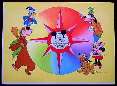 Mickey Mouse Club Vintage 1980's Original Disney Character (Original Mickey Mouse Club)