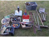 Big Joblot of Old Carpentry/Woodwork and DIY Tools