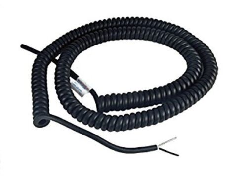Miller Edge C182-20B Coil Cord - 18 Gauge - 2 Conductor - 20 ft. Expanded