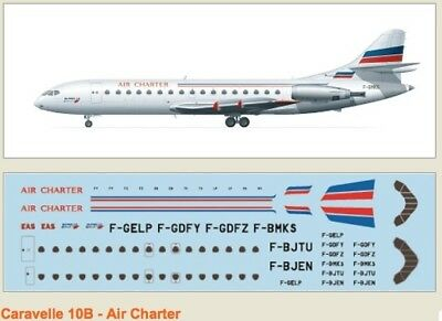F-rsin 1/144 Caravelle 10B Air Charter 4077