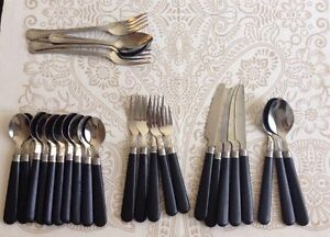 Used Stainless Cutlery