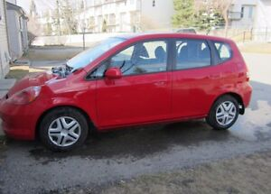2007 Honda Fit DX Hatchback V-Tech